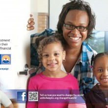 "View ""Print ad for United Way Community Campaign"""